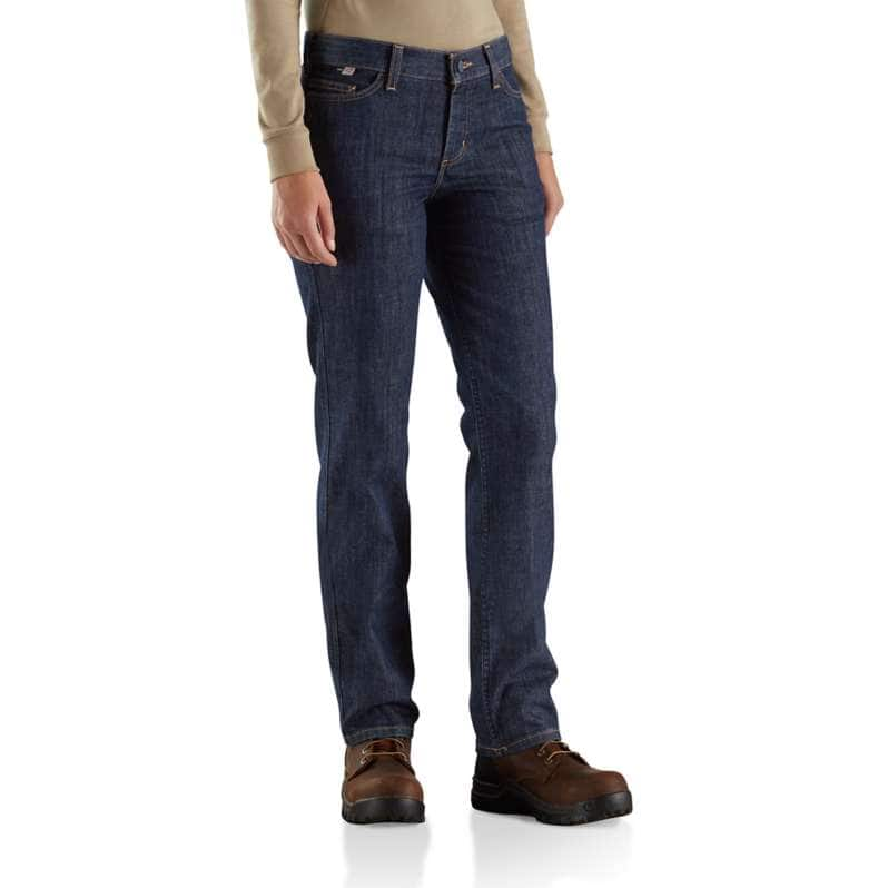 Carhartt  Premium Dark Flame-Resistant Rugged Flex® Jean-Original Fit