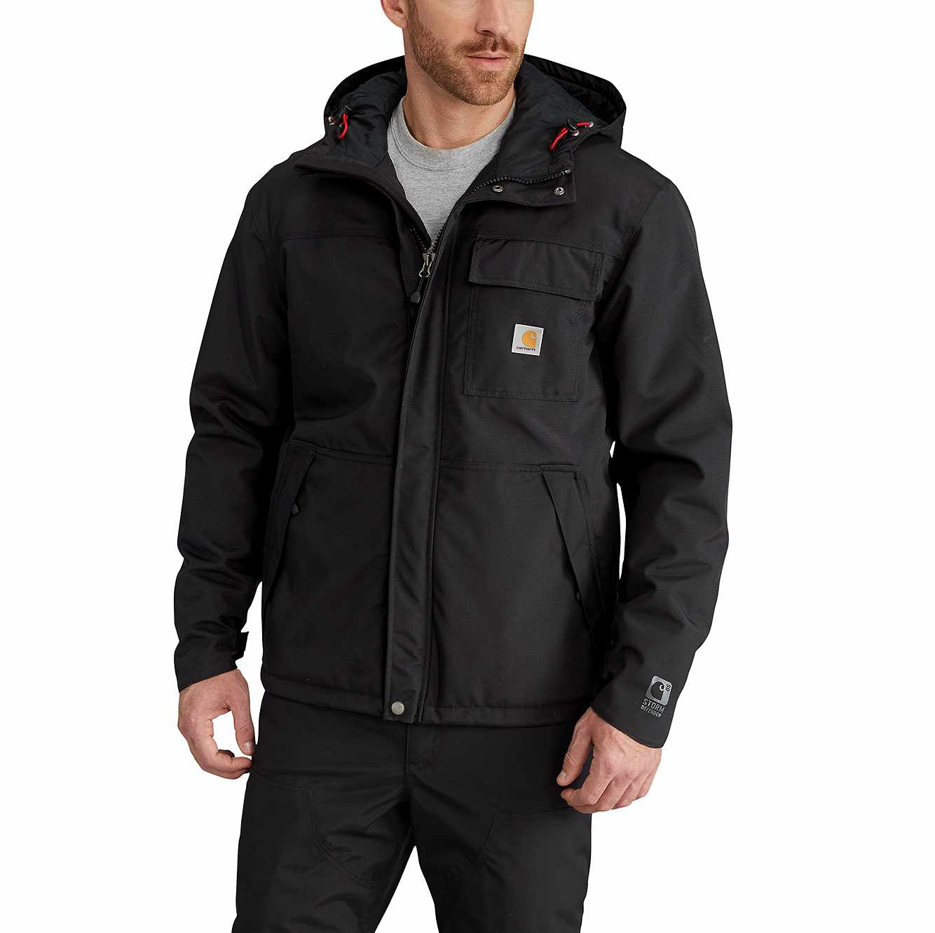 Picture of Insulated Shoreline Jacket in Black