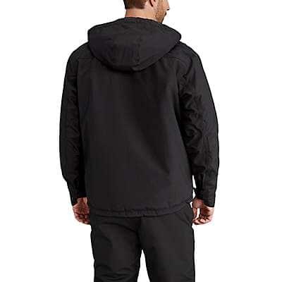 Carhartt Men's Black Insulated Shoreline Jacket - back