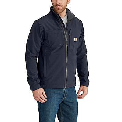 Carhartt Men's Navy Rough Cut Jacket - front