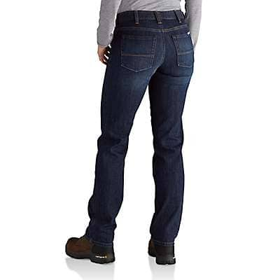 Carhartt Women's Bluestone Original-Fit Blaine Jean - back