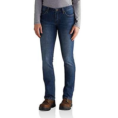 Carhartt  Rainwash Slim-Fit Layton Bootcut Jean - front