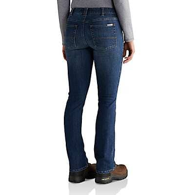 Carhartt Women's Rainwash Slim-Fit Layton Bootcut Jean - back