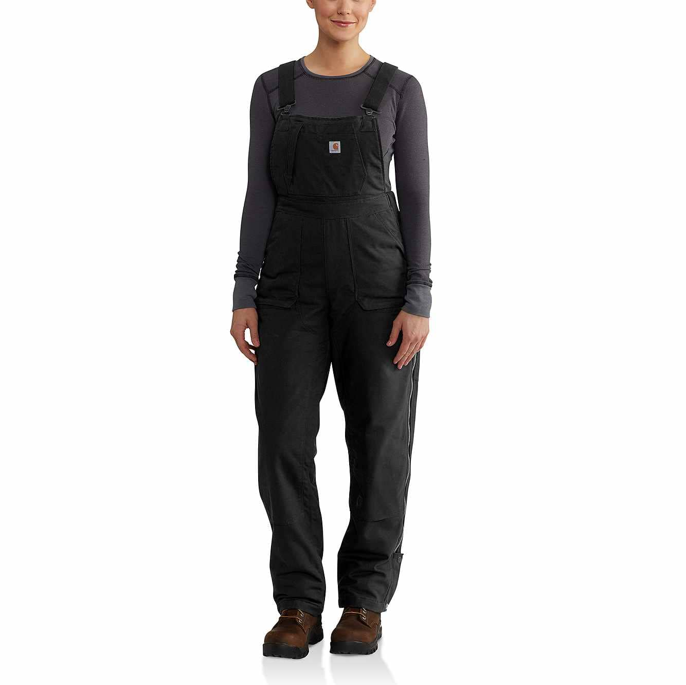 Picture of Full Swing® Cryder Bib Overalls in Black