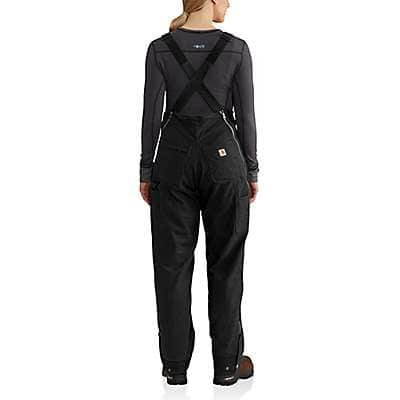 Carhartt Women's Black Full Swing® Cryder Bib Overalls - back
