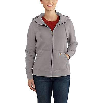 Carhartt Women's Black Clarksburg Full-Zip Hoodie - back