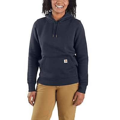 Carhartt Women's Fudge Heather Clarksburg Pullover Sweatshirt - front