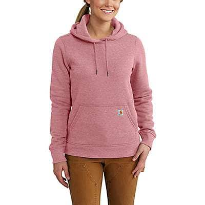 Carhartt Women's Fudge Heather Clarksburg Pullover Sweatshirt - back