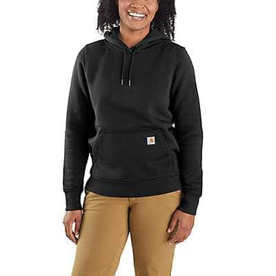 Carhartt Women's Black Relaxed Fit Midweight Sweatshirt
