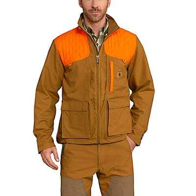Carhartt Men's Carhartt Brown Upland Field Jacket - front