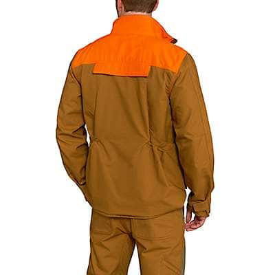 Carhartt Men's Carhartt Brown Upland Field Jacket - back