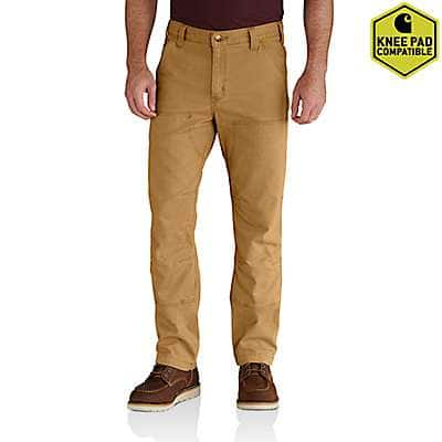 Carhartt Men's Hickory Rugged Flex® Rigby Double-Front Pant - front