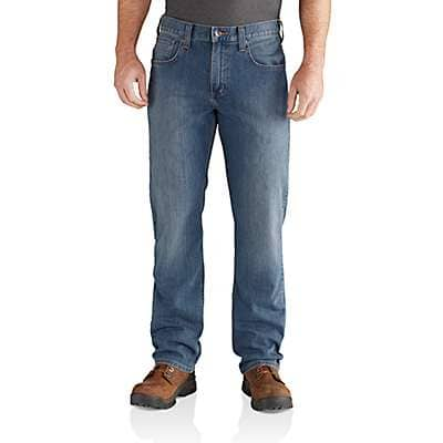 Carhartt Men's Coldwater Rugged Flex® Relaxed Fit Straight Leg Jean - front