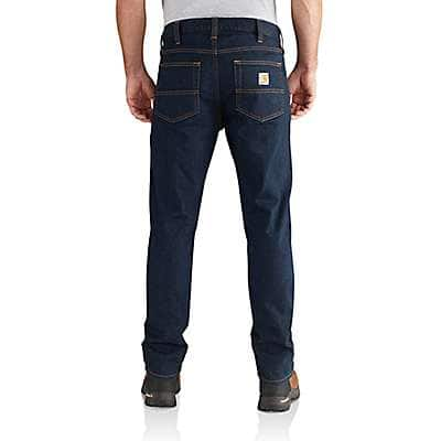 Carhartt Men's Erie Rugged Flex® Straight Fit Tapered Leg Jean - back