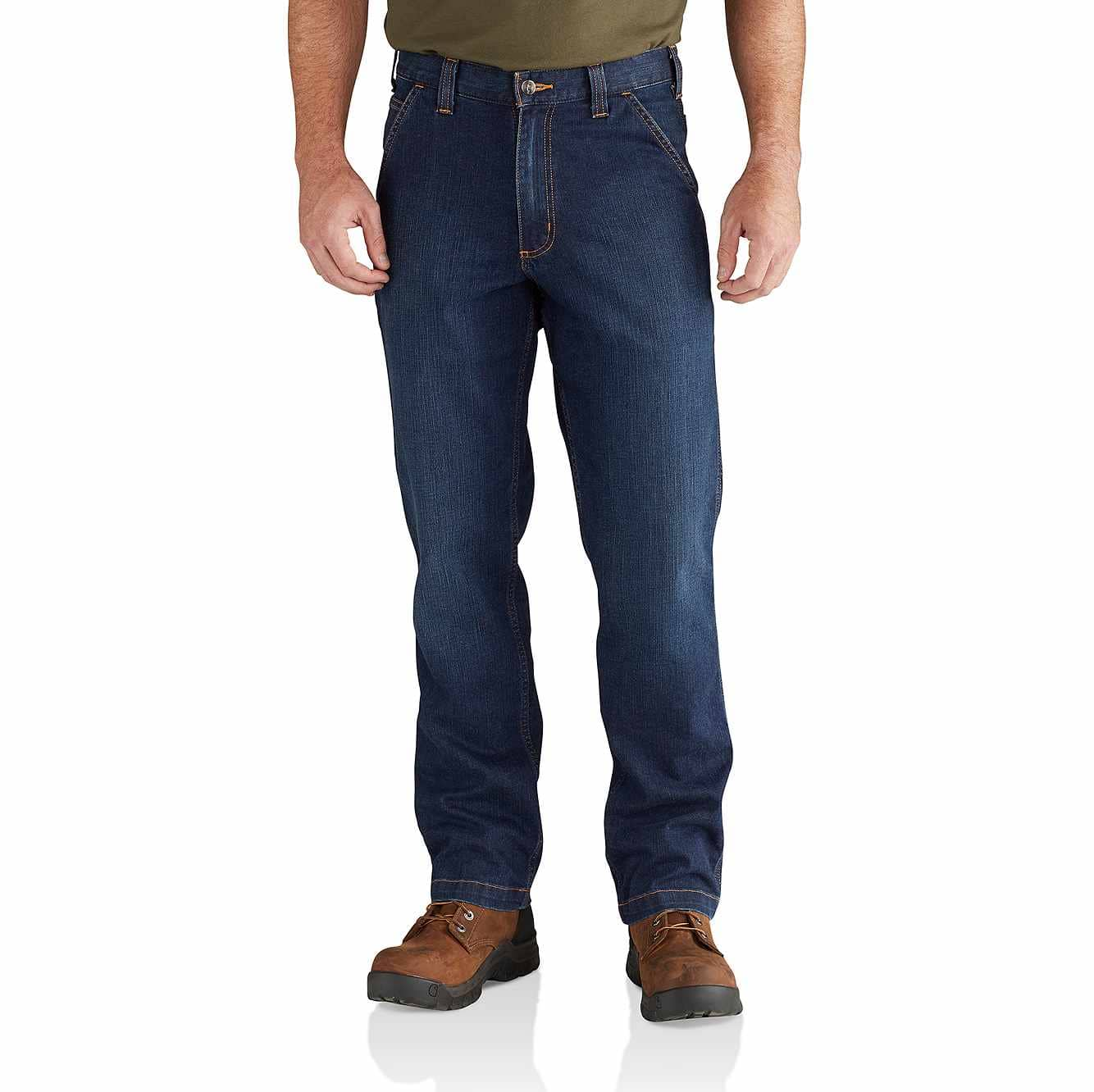 Picture of Rugged Flex® Relaxed Fit Dungaree Jean in Superior