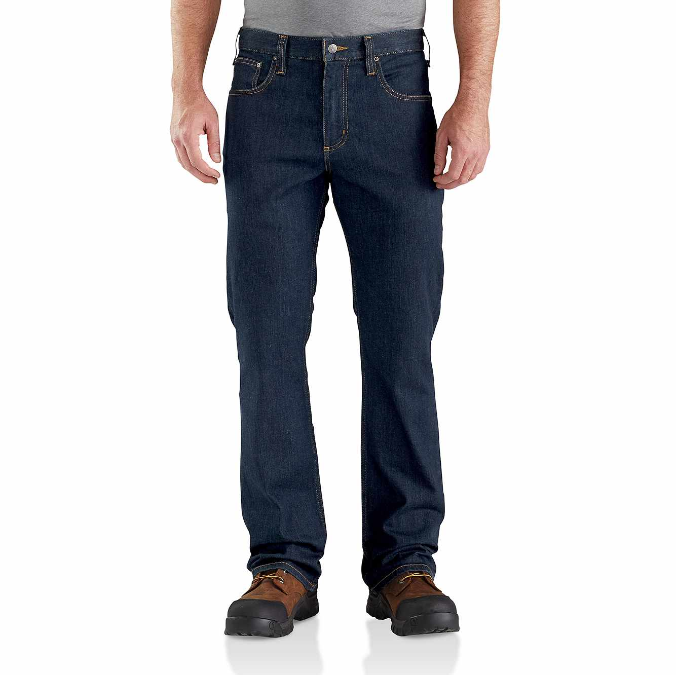 Picture of Rugged Flex® Relaxed Fit Boot-Cut Jean in Erie