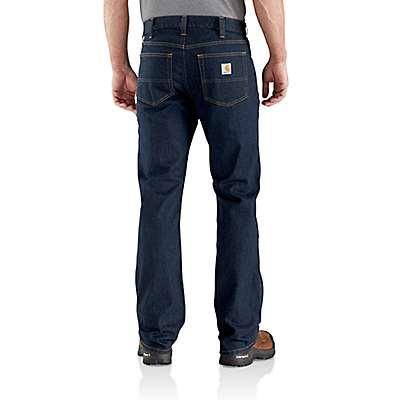 Carhartt Men's Erie Rugged Flex® Relaxed Fit Boot-Cut Jean - back