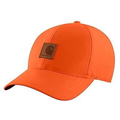 Carhartt Men's Hunter Orange Upland Cap - front