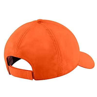 Carhartt Men's Hunter Orange Upland Cap - back