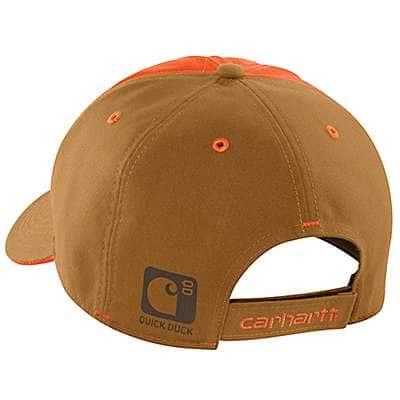 Carhartt Men's Carhartt Brown Upland Quilted Cap - back