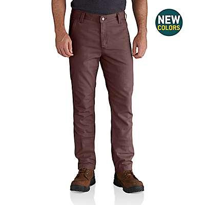 Carhartt Men's Dark Cedar Rugged Flex® Rigby Straight Fit Pant - front