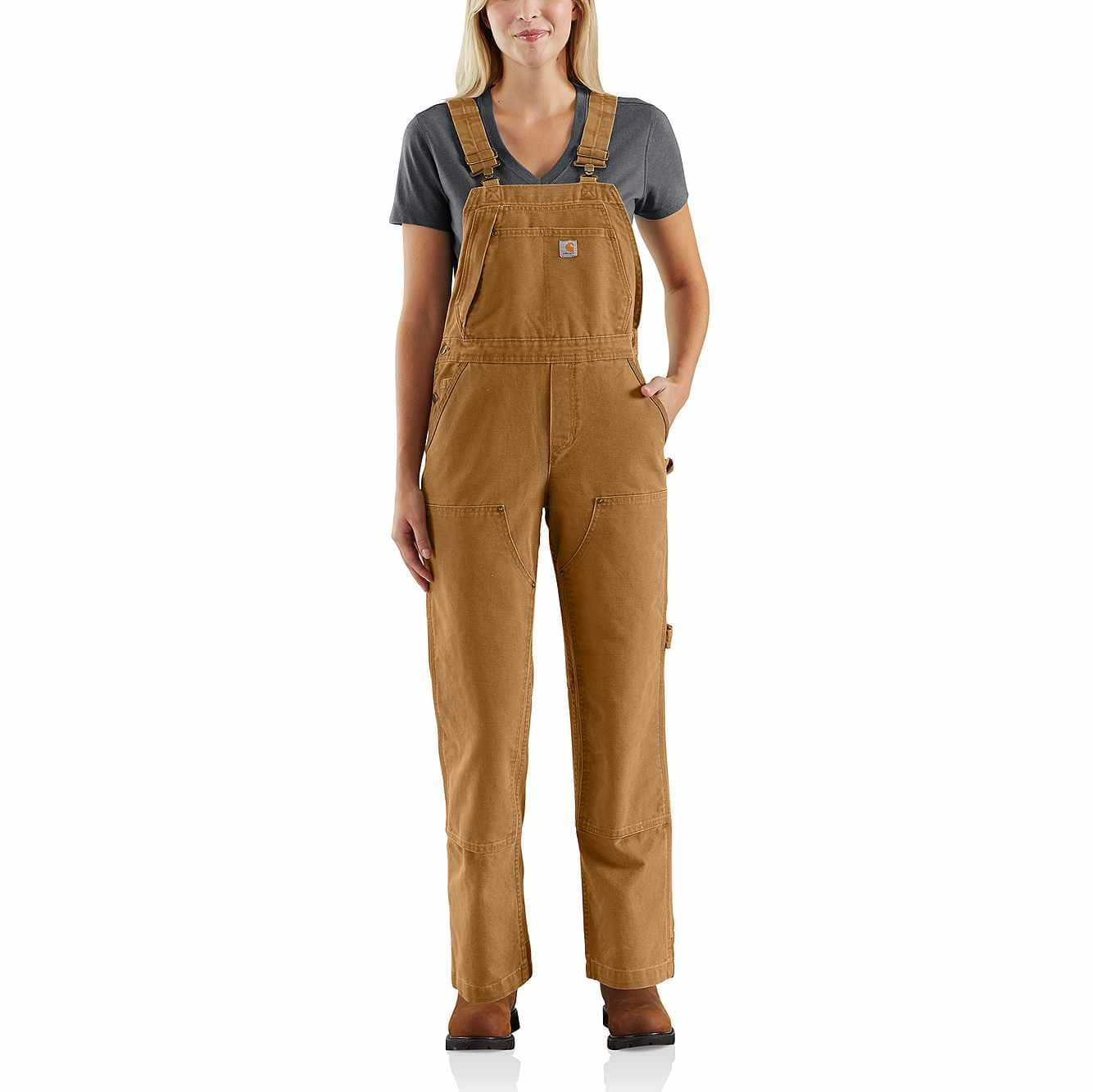 select for original favorable price cheap for discount Weathered Duck Unlined Wildwood Bib Overall