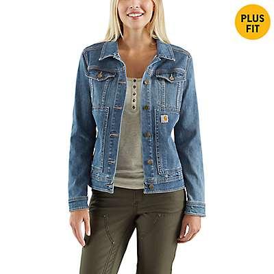 Carhartt Women's Stonewash Benson Denim Jacket - front