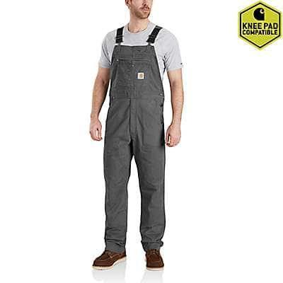 Carhartt Men's Gravel Rugged Flex Rigby Bib Overall - front