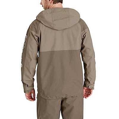 Carhartt Men's Black Storm Defender® Angler Jacket - back