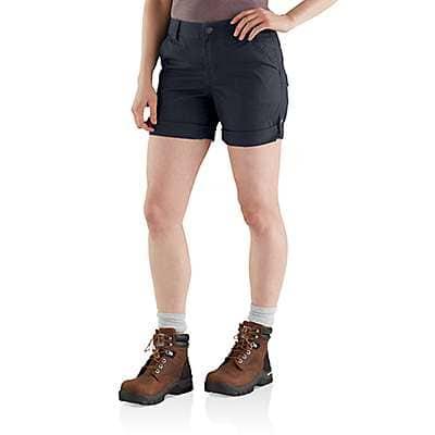 Carhartt Women's Tan Original Fit Smithville Short - front