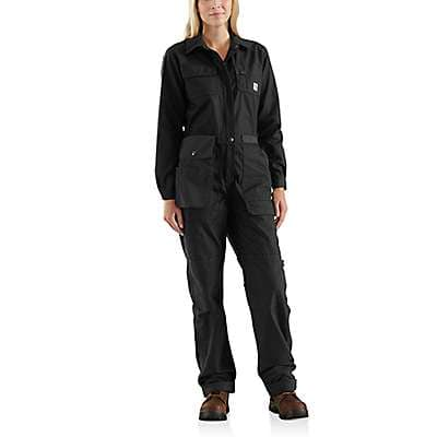 Carhartt  Black Smithville Coverall - front