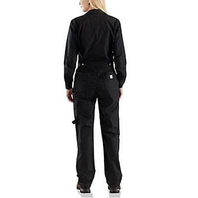 Carhartt Women's Black Smithville Coverall - back