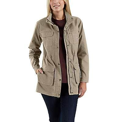 Carhartt Women's Tan Smithville Jacket - front