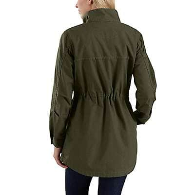 Carhartt Women's Tan Smithville Jacket - back