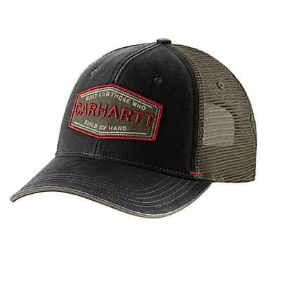 Carhartt Men's Dark Coffee Silvermine Cap - front