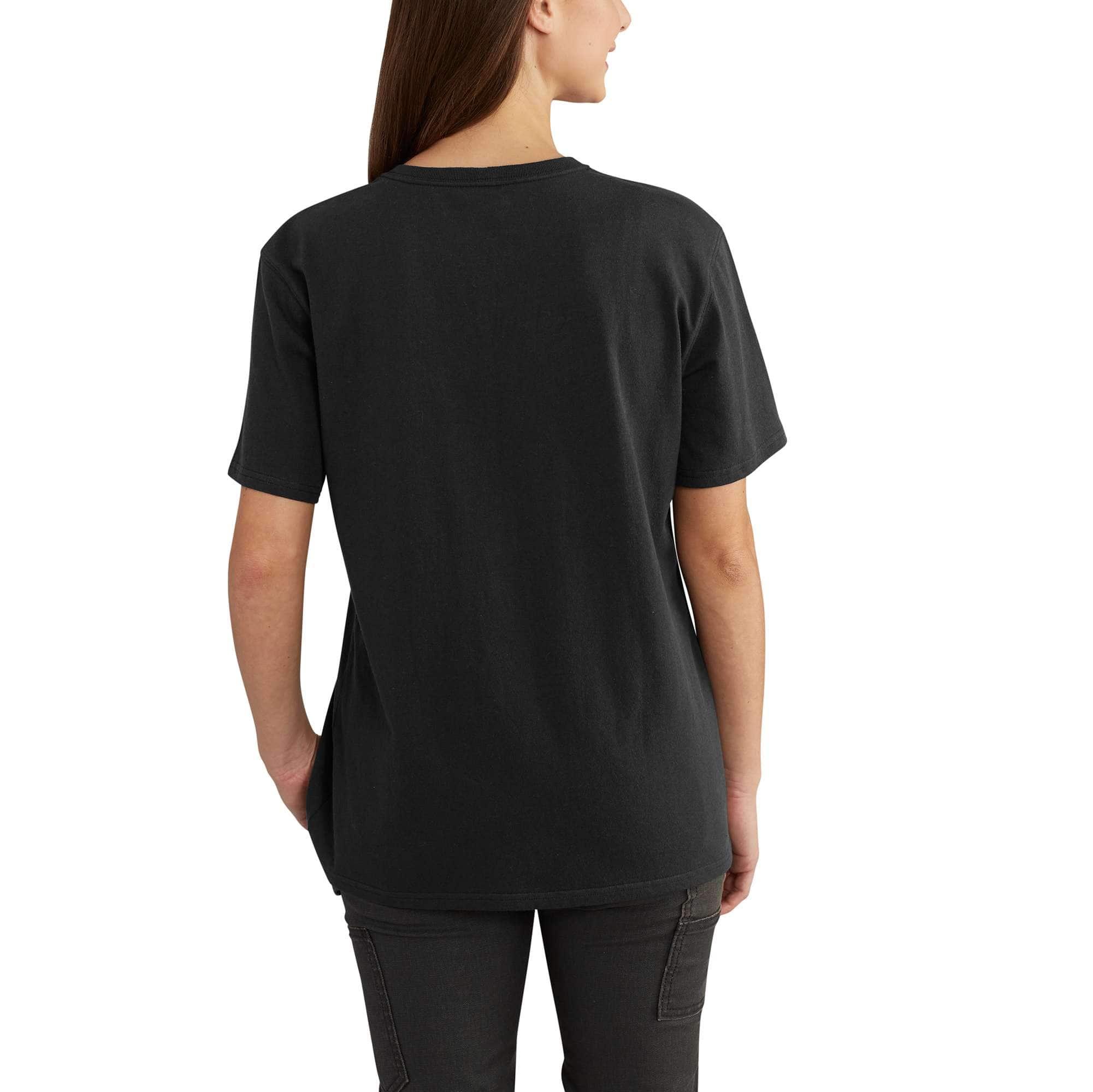 Women S Women S Loose Fit Heavyweight Short Sleeve Pocket T Shirt Carhartt