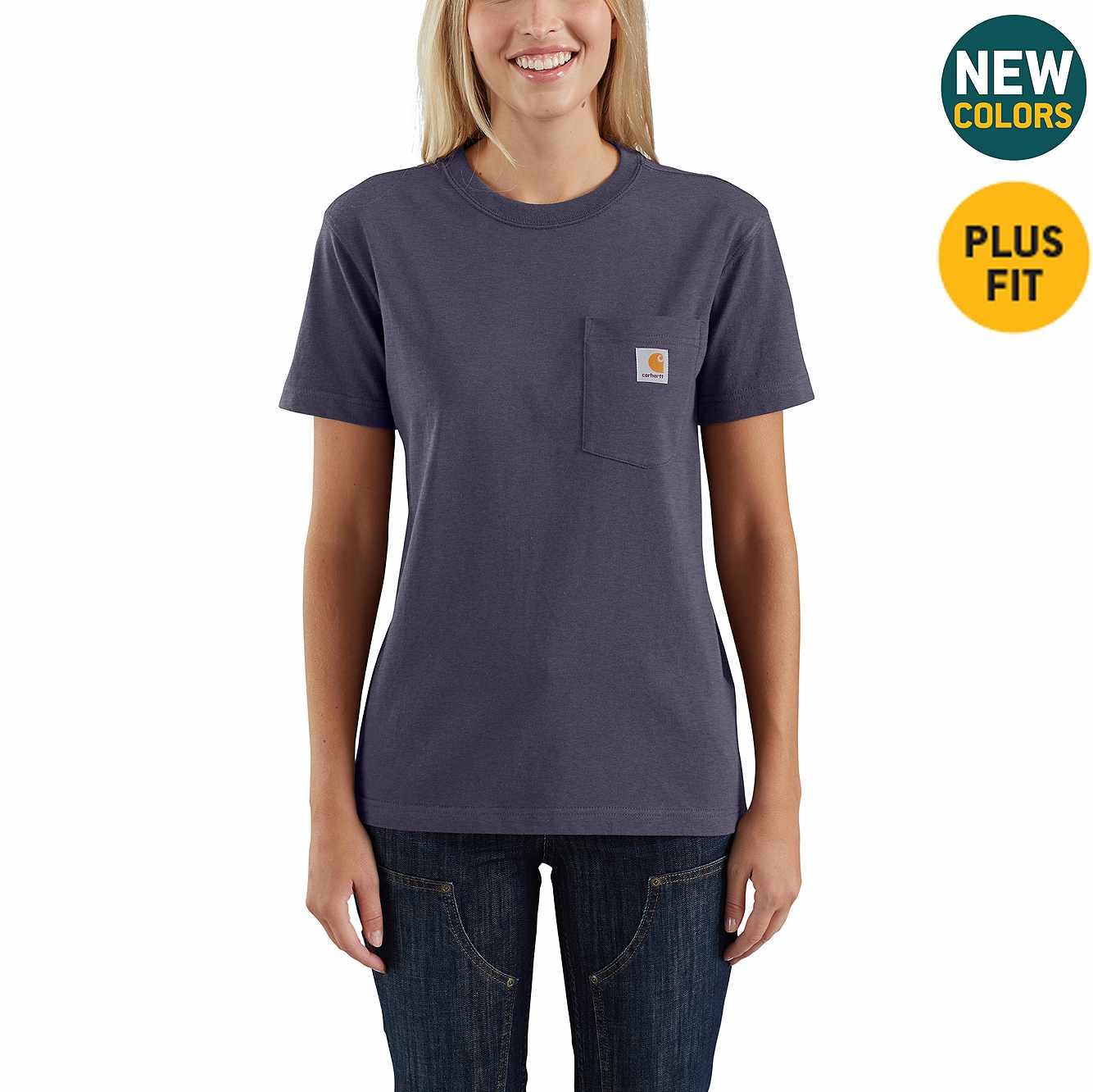 Picture of WK87 Workwear Pocket T-Shirt in Graystone Heather