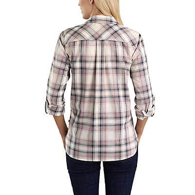 Carhartt Women's Asphalt Fairview Plaid Shirt - back