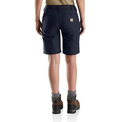 Carhartt Women's Black Rugged Professional™ Series Women's Original Fit Short - back
