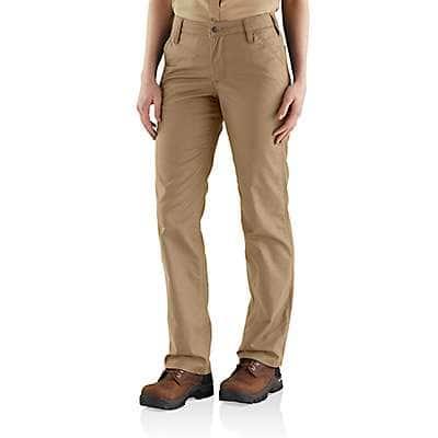 Carhartt Women's Navy Rugged Professional™ Series Women's Original Fit Pant - front