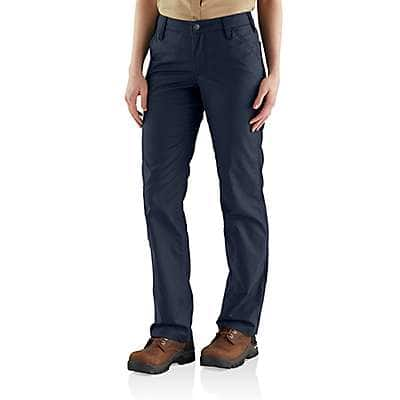 Carhartt Women's Navy Rugged Professional™ Series Women's Original Fit Pant - front