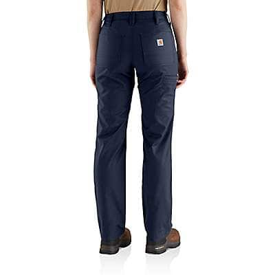 Carhartt Women's Navy Rugged Professional™ Series Women's Original Fit Pant - back