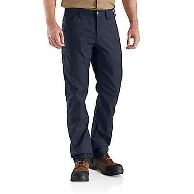 Carhartt Men's Navy Rugged Professional™ Series Men's Relaxed Fit Pant - front