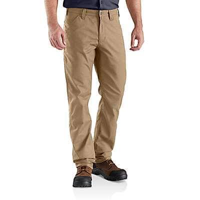Carhartt Men's Dark Khaki Rugged Professional™ Series Relaxed Fit Pant