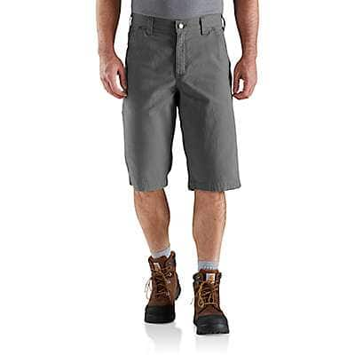 Carhartt Men's Dark Khaki Rugged Flex® 13 Inch Rigby Short - front