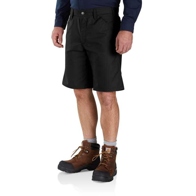 Carhartt  Black Rugged Professional™ Series Relaxed Fit Short