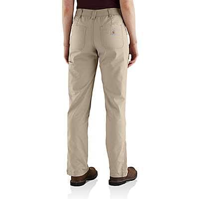 Carhartt Women's Tan Original-Fit Smithville Pant - back