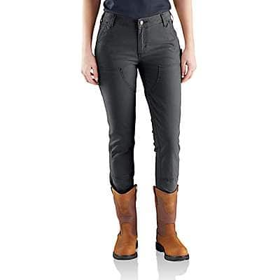 Carhartt Women's Shadow Slim-Fit Crawford Double-Front Pant - front