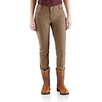 Carhartt Women's Shadow Slim-Fit Crawford Double-Front Pant - back