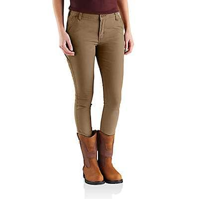 Carhartt Women's Yukon Slim-Fit Crawford Pant - front